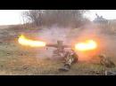 Ополченцы ДНР стреляют из ПТУР / Militias fired from antitank guided missile