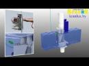 Смывной бачок инсталляции для унитаза GROHE Rapid SL