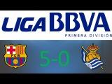 La Liga. FC Barcelona vs Real Sociedad 5-0 (01.01.2016) FIFA14
