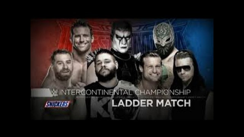 Ladder Match - Intercontinental Championship - Wrestlemania 32 - Highlights HD