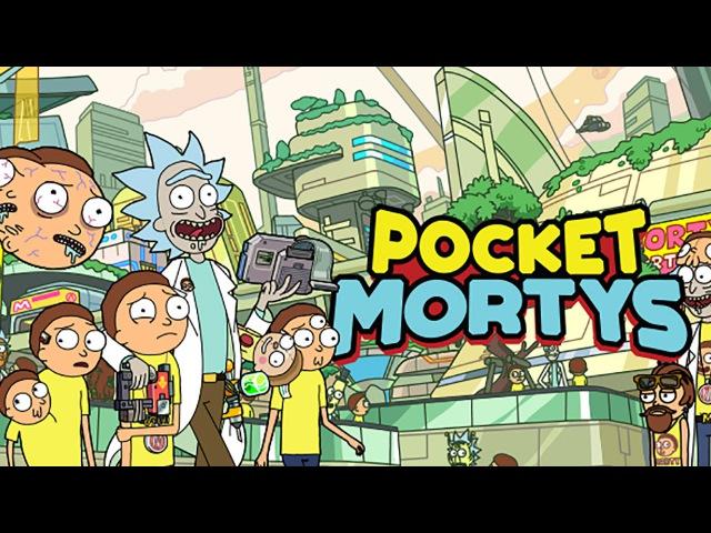 [Обновление] Pocket Mortys - Геймплей | Трейлер