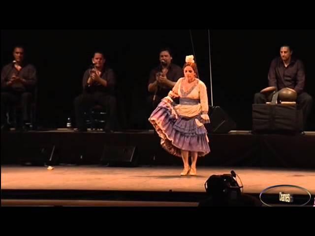 Eva Yerbabuena en la Noche Blanca del Flamenco d
