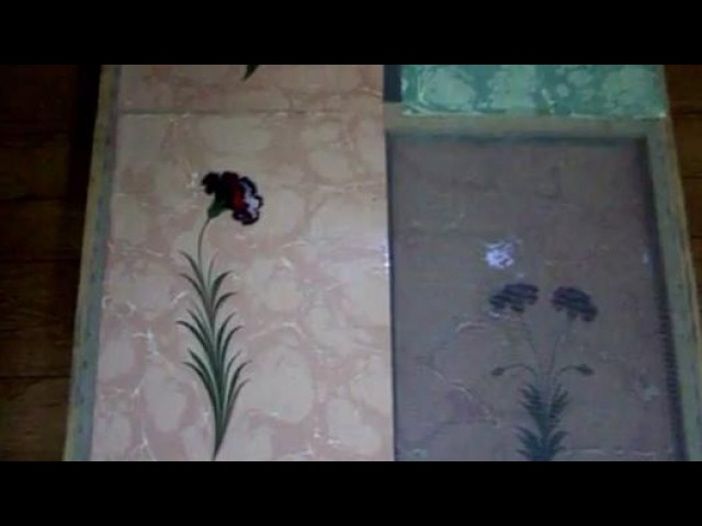 Firdevs Çalkanoğlu - Ebru Atölyesi ( Karanfil ) - Dailymotion Video