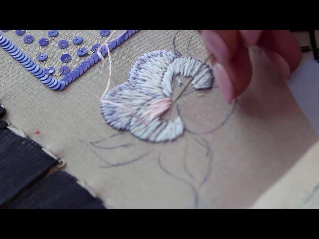 Смотреть мастер класс по вышивке