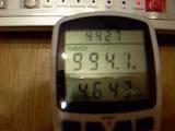 Индукционный водонагреватель предварительный замер мощности.