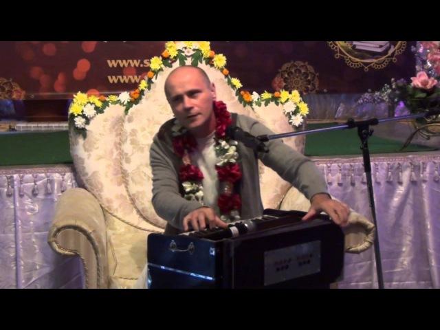 Е.М. Кришна Баларам прабху - «Уличная Санкиртана Профессиональный подход» - Часть 2 - 27.09.2015