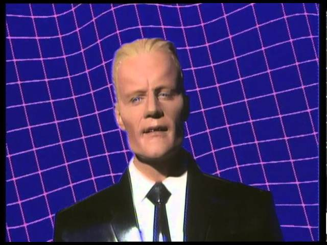 The Art of Noise with Max Headroom - Paranoimia (Official Video)