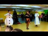 Зажигательный танец ФИКСИКОВ от школы АЙКИДО в Николаеве