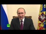 Специальное заявление Владимира Путина по прекращению боевых действий в Сирии #Путин