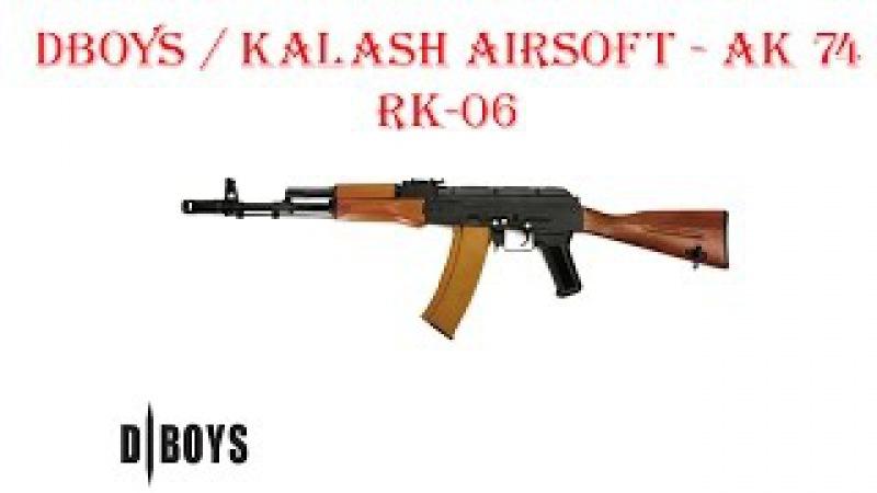 DBOYS KALASH AIRSOFT - AK-74 RK-06 AEG airsoft (страйкбол)