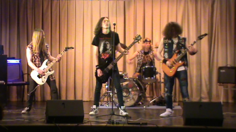 AfiXtoR - Metal Cover Show - Lost society N.W.L.
