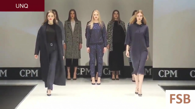 UNQ, Lauma, Alena Silkina and Anna Gasimova CPM Moscow week. Fall⁄ winter 2016 2017 fashio