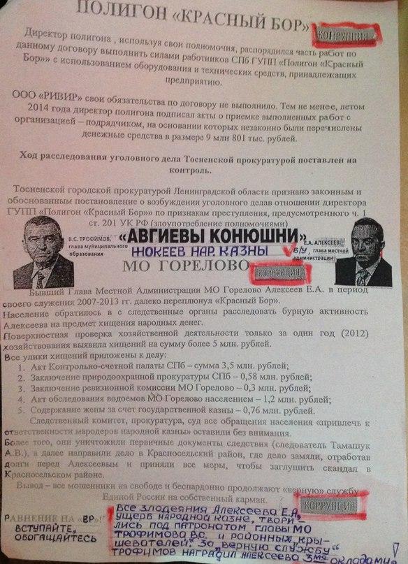 ТРОФИМОВА - В ОТСТАВКУ!