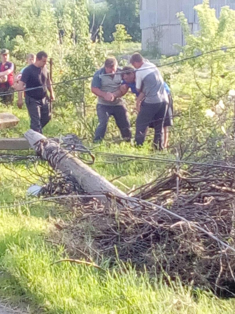 Под Таганрогом пьяный на «Ниве» снес три бетонных столба и остался жив
