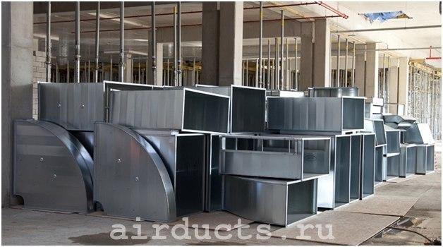 Производство воздуховодов прямоугольных