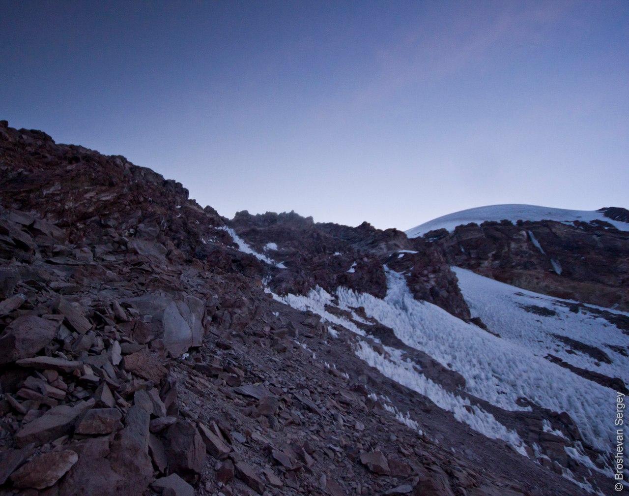восхождение на Сахаму в Боливии, высота 6000 м