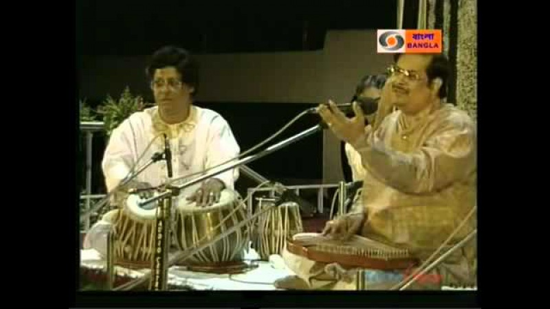 Raga Ahir Bhairav Pandit Ajoy Chakraborty and Pandit Anindo Chatterjee Part-1