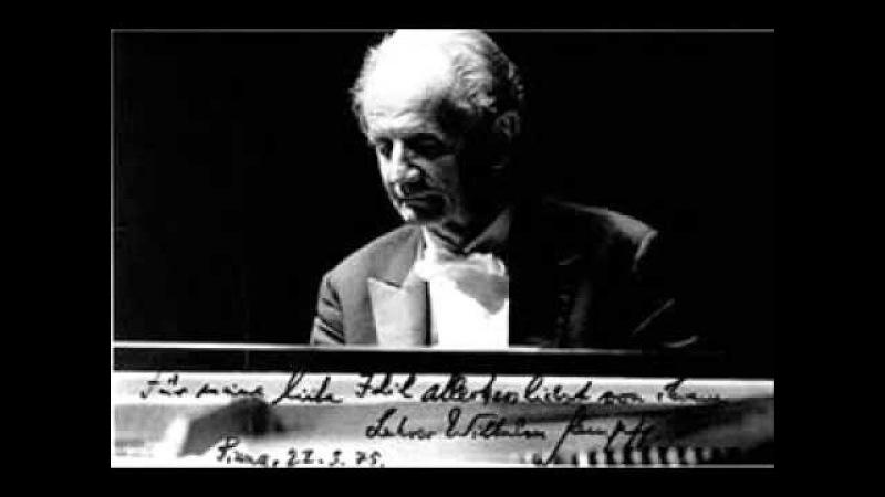 Wilhelm Kempff plays Schubert 3 Piano Pieces D 946
