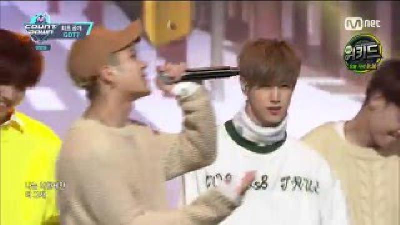 [Comeback Stage] 160324 GOT7 (갓세븐) - See the Light (빛이나) @ 엠카운트다운 M! Countdown [1080p]