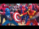 Spider-Man: SPIDER-VERSE Wreaks Havoc at MEGACON! Epic Flash Mob Invasion!
