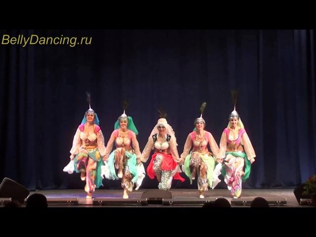 Группа Шамахан шоу. Moscow bellydance cup 2014