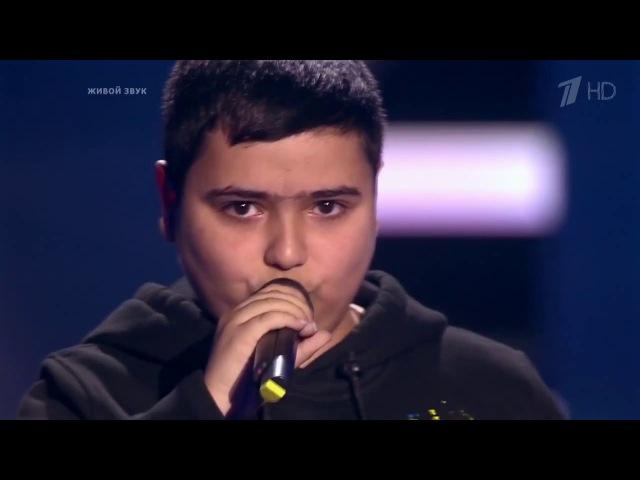 Azerbaycanli usaq Rusiyani heyretlendirdi o ses rusiya Azer Nesibov Азер Насибов Голос Дети