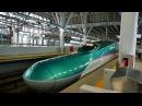 東北新幹線 はやぶさ8号 (E5系運行) 超広角車窓 進行左側 新青森・八戸