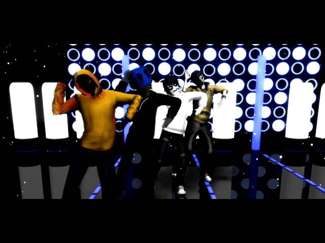 [MMD] Creepypasta ~ Shake it off [Hoodie, E.J, Jeff the killer, Masky]