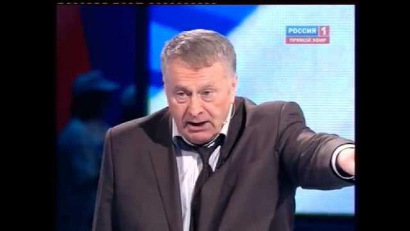 Дебаты. Выборы 2012. Жириновский vs Путин (Мохначук) 1.03.2012