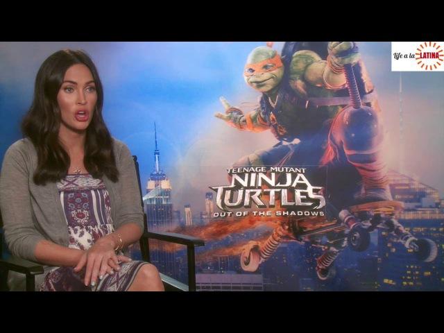 Megan Fox talks pregnancy, kids and Teenage Mutant Ninja Turtles