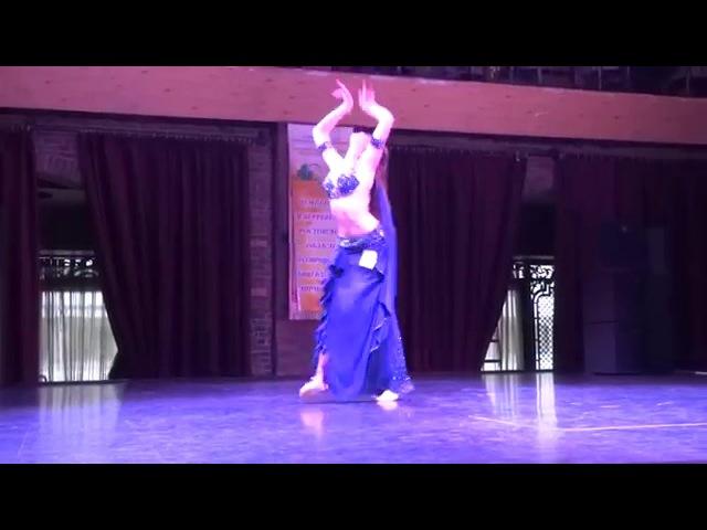 Танец живота│Анастасия Волкова исполняет танец живота ♚ Amouage ♚Belly dance studio