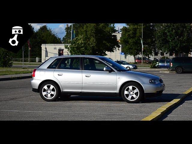 Audi A3 1.8i 8L Тест-драйв zhmuraTV