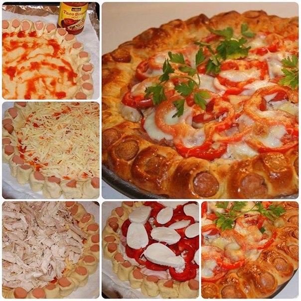Начинка пицца рецепт приготовления