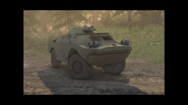 Spin Tires - Dev Demo - BRDM-2