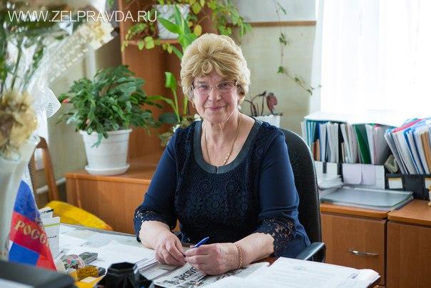 Директор СОШ №5 станицы Зеленчукской Крикунова Людмила Степановна отметила 75-летний юбилей