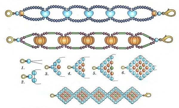 Видео уроки плетение крестиком