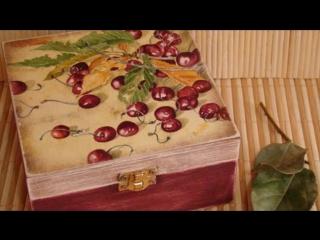 Вишневые Мотивы Спелая Вишня и Цветущая Саккура