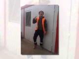 Таджик круто танцует на стройке! Смотреть всем,прикол!!!