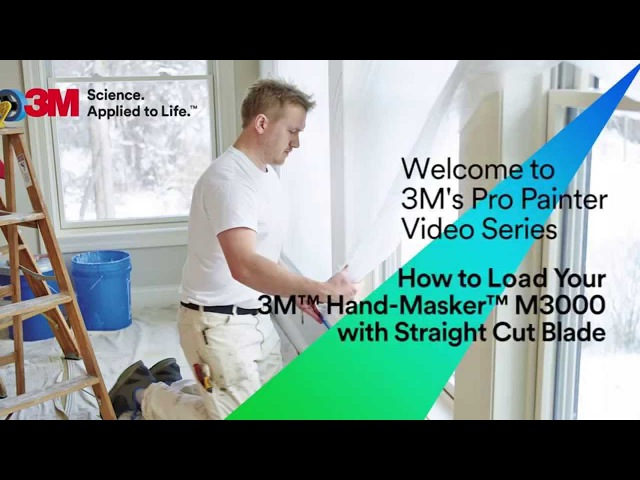 How to Load Your 3M Hand-Masker M3000 with new straight cut blade