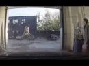Мойщик взлетел от давления воды Karcher Rocket jump