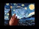 Интерактивная картина Ван Гога «Звездная ночь»