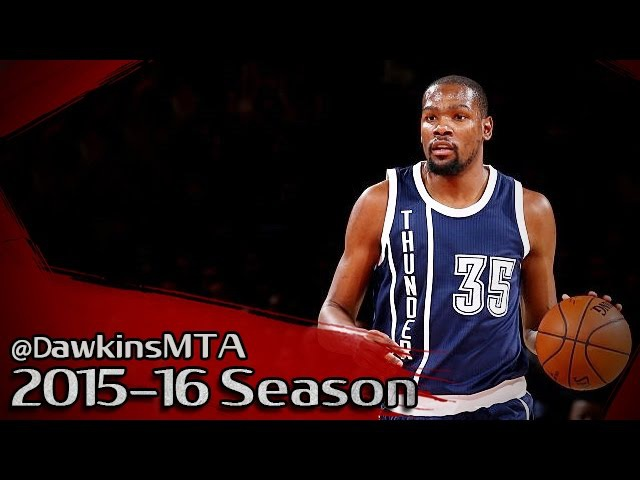 Kevin Durant Full Highlights 2016.01.26 at Knicks - 44 Pts, 15 Rebs, 5 Dimes, 2 GOOD!