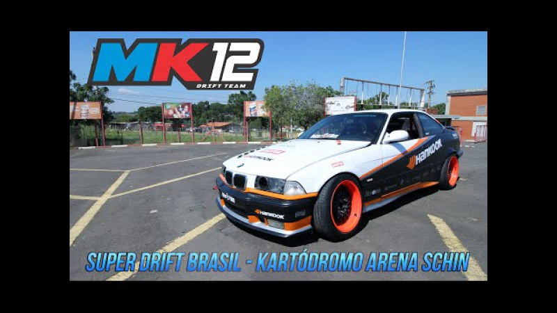 Márcio Kabeça no Super Drift Brasil - Kartódromo Arena Schin - ITU MK12