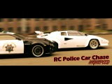 RC Police Car Chase Highspeed Pursuit! Lamborghini, Camaro, Helicopter, Tank RC Showdown