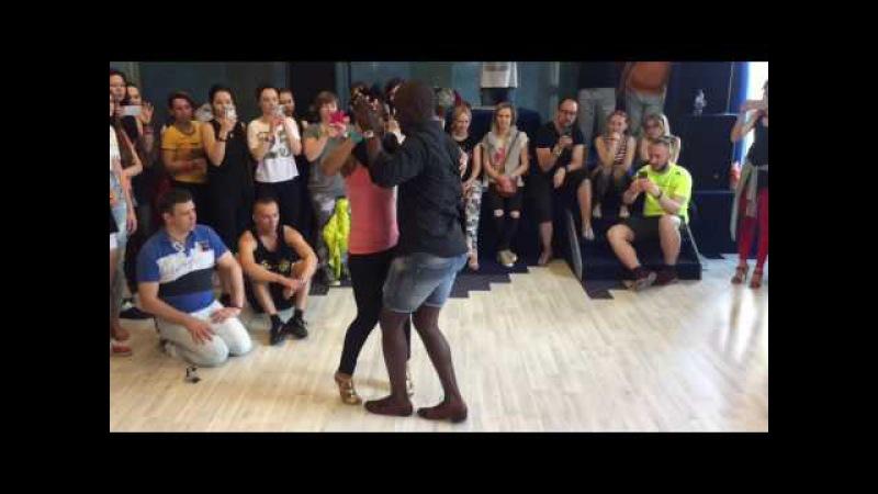 Jamba Adoree dancing Semba 5. KIZZAFRO 2016