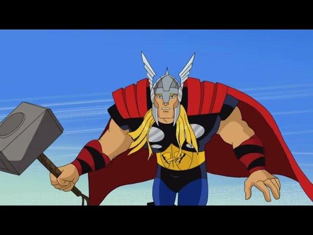 Мстители Величайшие герои Земли Побег Часть вторая Сезон 1 Серия 2 Marvel
