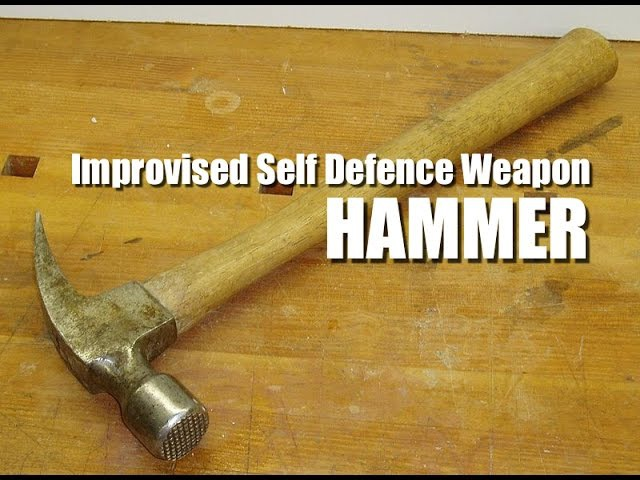 Silat Suffian Bela Diri - Hammer. Improvised Self Defence Weapon