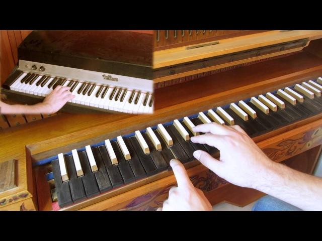 Light My Fire Solo Cover - Organ Epiphone Casino Guitar (Doors Tribute - RIP Ray Manzarek)