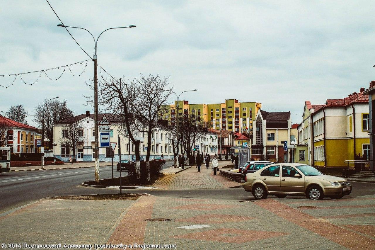 """Город, где живут """"жадные"""" белорусы..."""