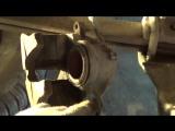 Замена передних тормозных колодок на Газели